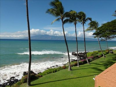 Step Out to Your Lanai and a View of Molokai Appears to the North