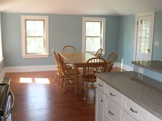 Ogunquit house photo - Bright dining area.