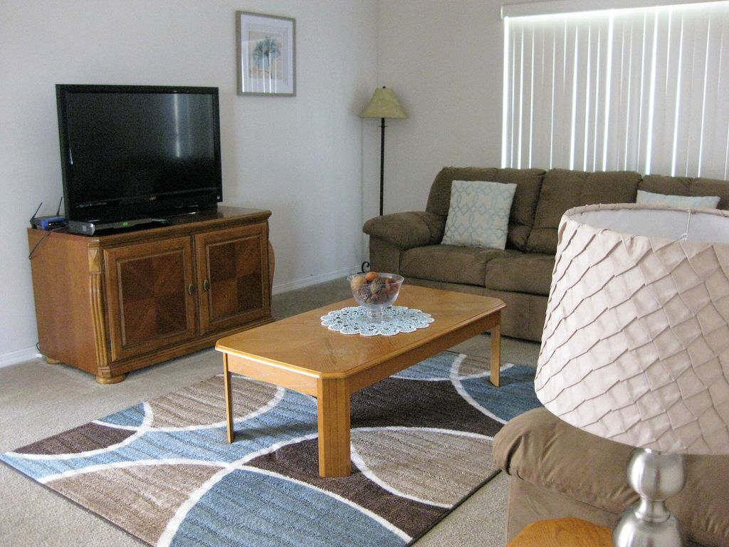 View of family room - shows flat screen TV - WIFI etc