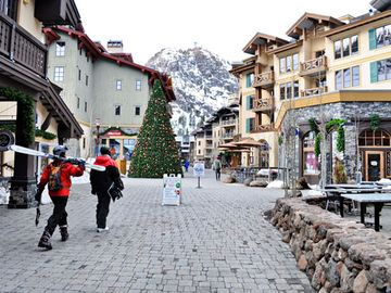 Squaw Valley Village in Olympic Valley California