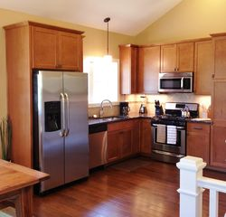 South Haven cottage photo - Bright Kitchen - Fully Stocked