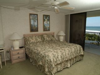 Cocoa Beach condo photo - Master Bedroom on the Ocean