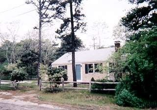 Dennisport cottage rental - Property Exterior with Vintage Pines