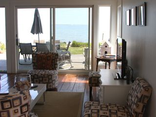 Provincetown condo photo - The ocean beyond...