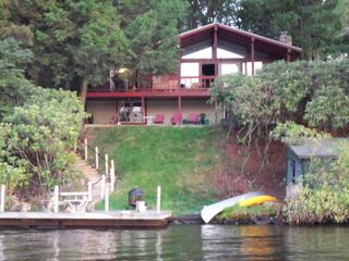 Lake Harmony house photo - Summer Lake Front Pleasure with Dock
