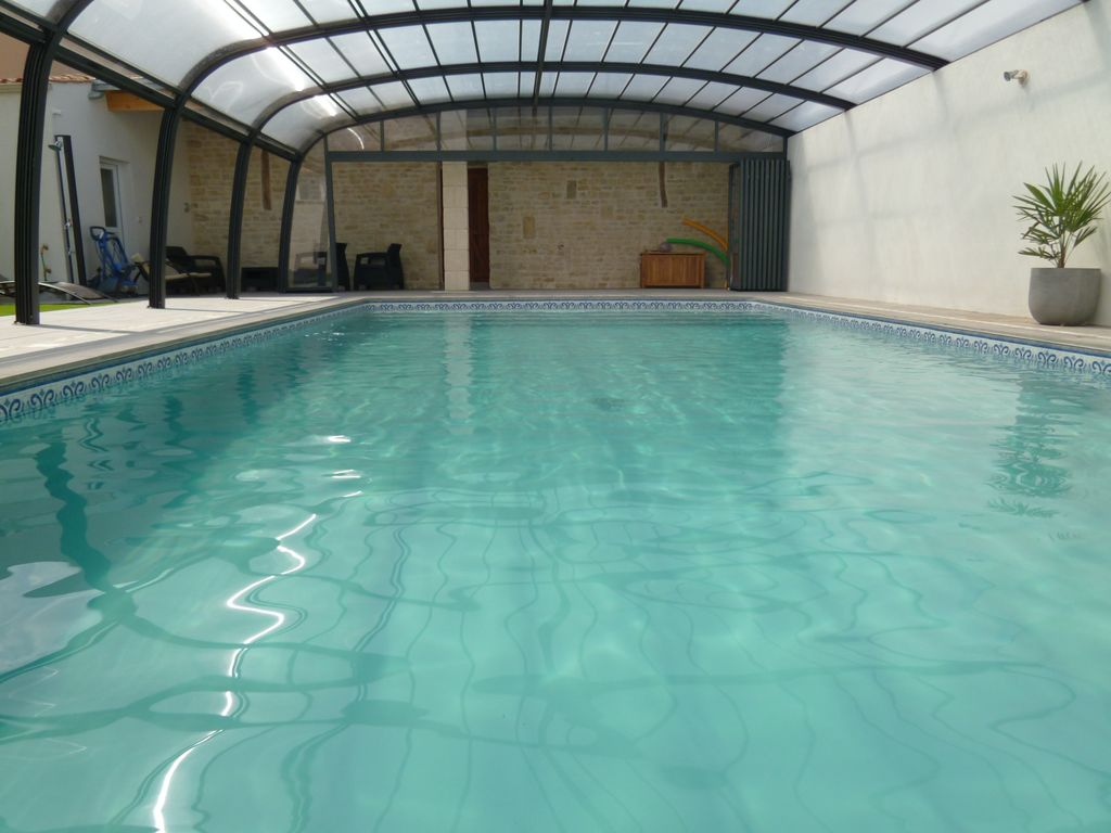 8p House With Indoor Swimming Pool Any Homeaway Puyravault