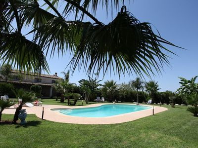 Ancient tenement With Pool and Park in Scicli, home of Montalbano