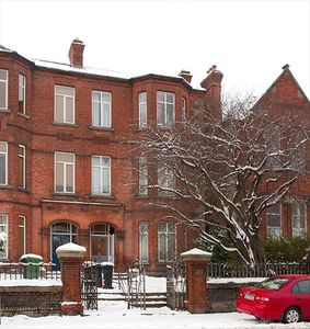 Exterior of property in winter