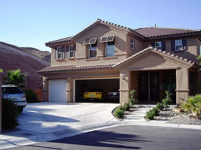 Las Vegas house rental - Casa Las Vegas - the front of the house