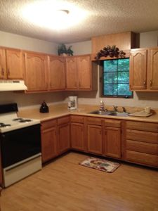 Chimney Rock cabin rental - .nice big kitchen