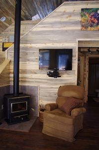 Cozy wood burning stove