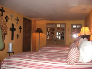 San Miguel de Allende house photo - One of two casita bedrooms, each with a separate bathroom