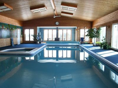 Cottage With Largest Private Indoor Pool In Vrbo