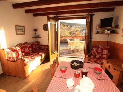 Typical house of Vercors near the slopes, comfortable and neat