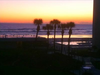 New Smyrna Beach condo rental - Sunrise from master bedroom