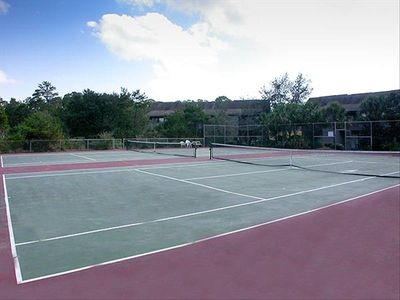 Tennis anyone?...The Cassine courts welcome tennis enthusiasts of all ages!