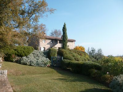 Beautifully house with grand piano and pool near Todi