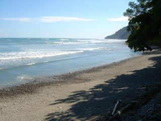 Montezuma house photo - Cabuya Beach with Cabo Blanco Park in the distance
