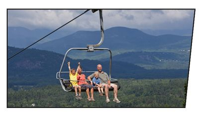 Chairlift to top of Cranmore