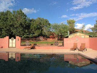 Sedona house photo - Pool with Home