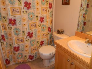 Carrabassett Valley condo photo - Bathroom with shower and tub