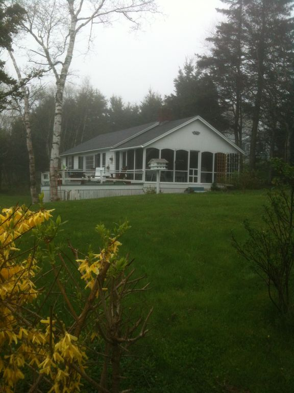 Pemaquid Point Cottage in Spring