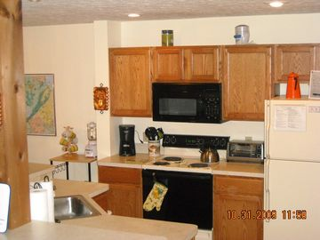 Kitchen with open area to be a part of group