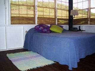 Culebra house photo - Second bedroom, queen bed, views and breezes!