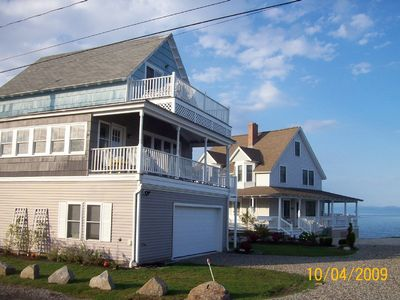 York Beach house rental - Just steps from the Ocean where you can see and hear the crashing surf