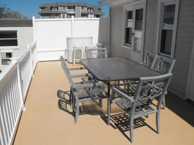 2nd floor back deck