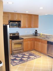Vacation Homes in Ocean City condo photo - Kitchen with all the comforts of home