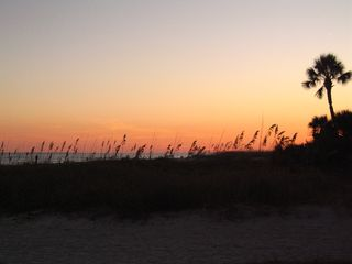 Folly Field villa photo - Sundown at the beach