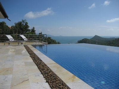 Bang Po beach villa rental - Coral View: View to the Gulf of Siam