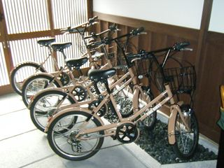 Kyoto townhome photo - Bicycles for the guests