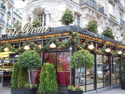 "FAMOUS FISH RESTAURANT CALL "" LE DOME"""