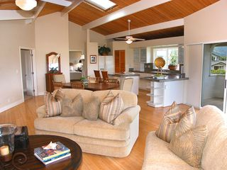 Princeville house photo - Great Room and fully stocked Kitchen for family meals and togetherness