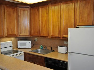 Complete Kitchen, Koa Wood cabinets, new counters