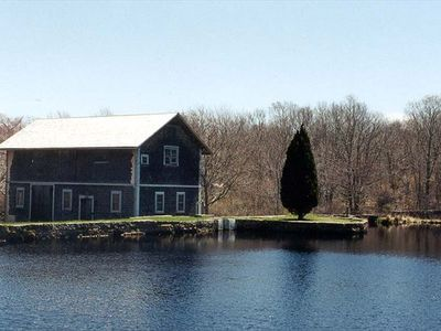 Barn and Mill Pond