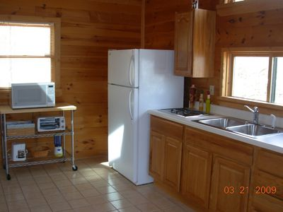 Lake Allatoona studio rental - Well Equipped Kitchen