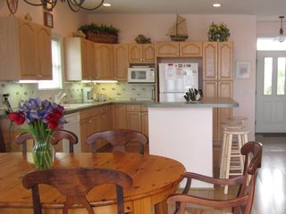 Harbor Island house photo - You'll love cooking in the spacious kitchen with lots of storage and light.