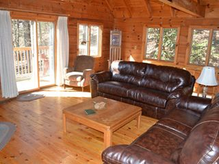 Gatlinburg chalet photo - Plenty of windows to let in natural light and to enhance your mountain view!