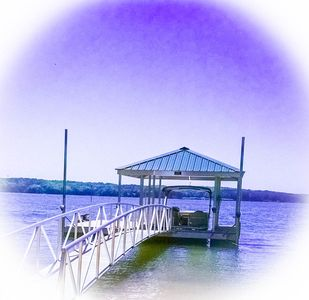 Lake Allatoona house holiday rental - Luxurious Romantic Lakefront