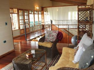 San Ramon villa photo - The upstairs sitting room is a cozy place to relax with a view of the canyon.