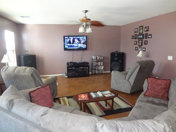 Laveen house rental - Family room