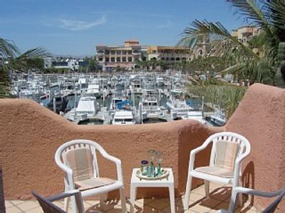 Cabo San Lucas condo rental - Balcony View of Marina