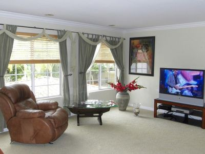 Master Bedroom  42' Rear Projection DLP Cable TV