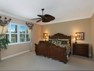 Bonita Springs apartment photo - Master bedroom showing views over golfcoue and lake