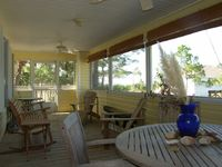 Single Level Beach Home with Elevator, Screened Porch w/Gulf View ~ Sweet Olive