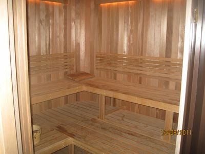 Sauna, Showers, at hotel for your use