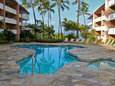 Kailua Kona condo rental - Beautiful newly remodeled pool on property